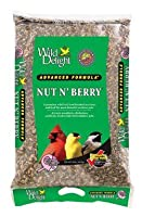 Wild Delight 36620020lbナットN ' Berry Bird Food