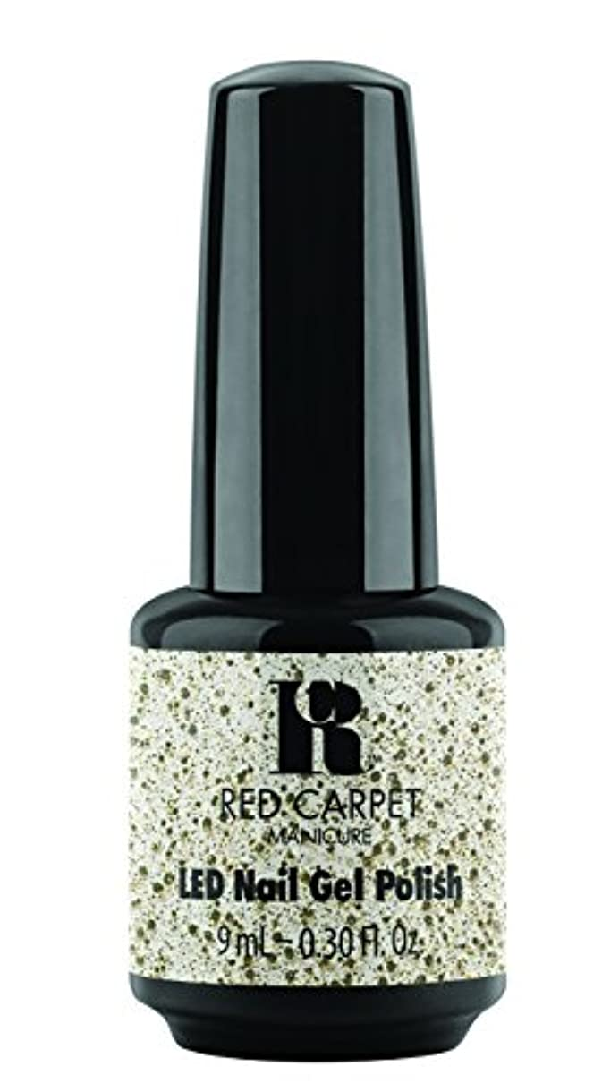 エキゾチック鉱石おしゃれじゃないRed Carpet Manicure - LED Nail Gel Polish - Trendz - Hollywood Royalty - 0.3oz / 9ml