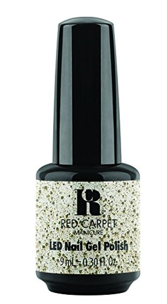 配管振りかける通路Red Carpet Manicure - LED Nail Gel Polish - Trendz - Hollywood Royalty - 0.3oz / 9ml