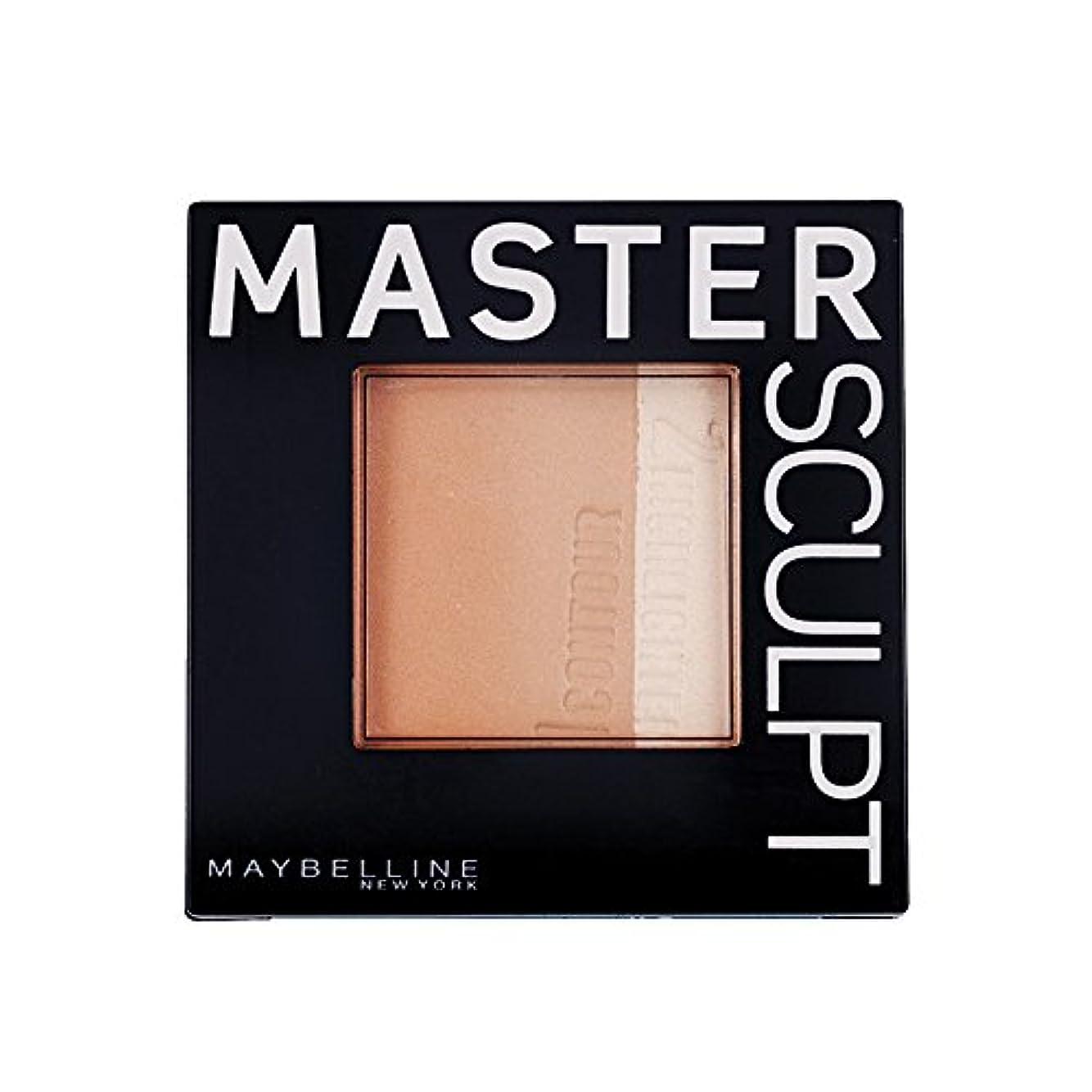 効能ダッシュ是正するMaybelline Master Sculpt Countouring Palette Light Medium 01