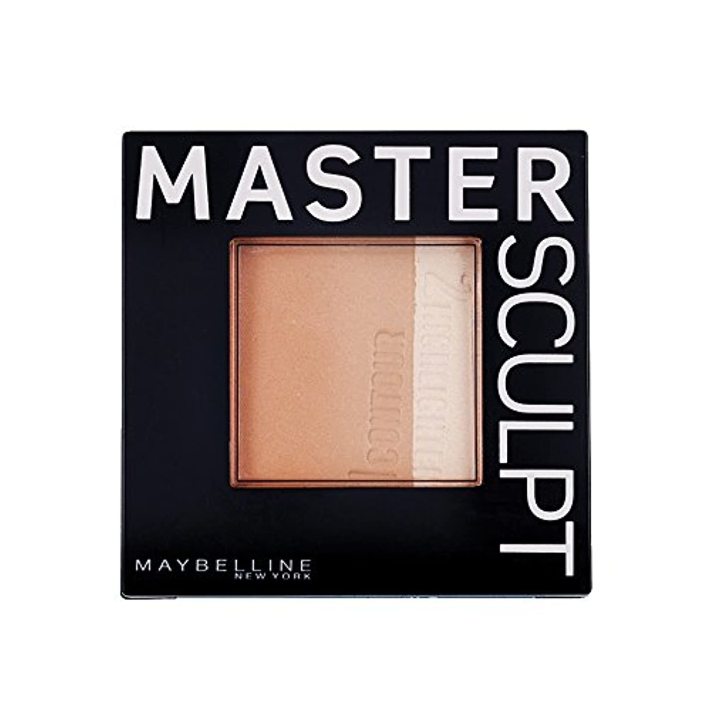 行進空気ハウジングMaybelline Master Sculpt Countouring Palette Light Medium 01