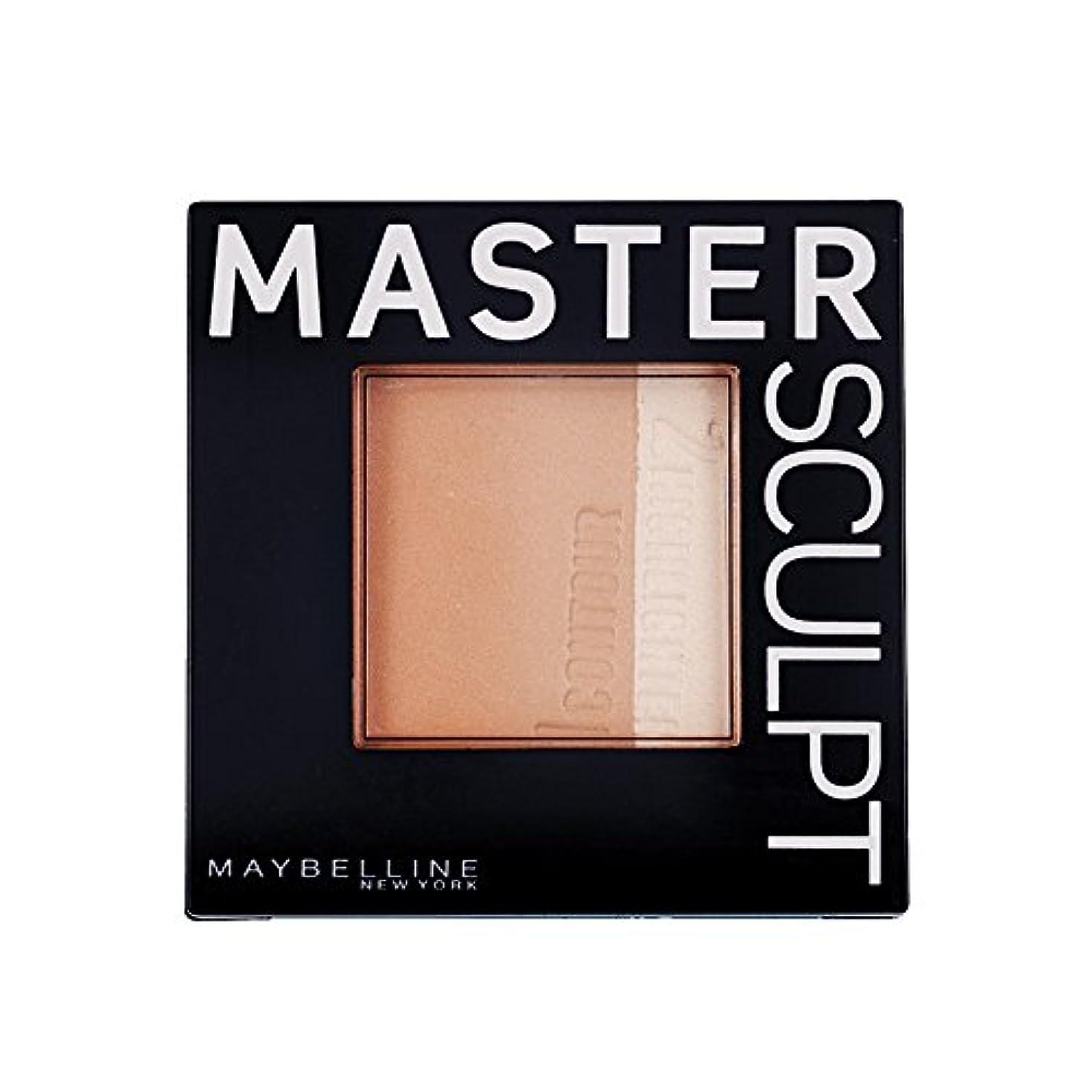 キャビン上がる満員Maybelline Master Sculpt Countouring Palette Light Medium 01
