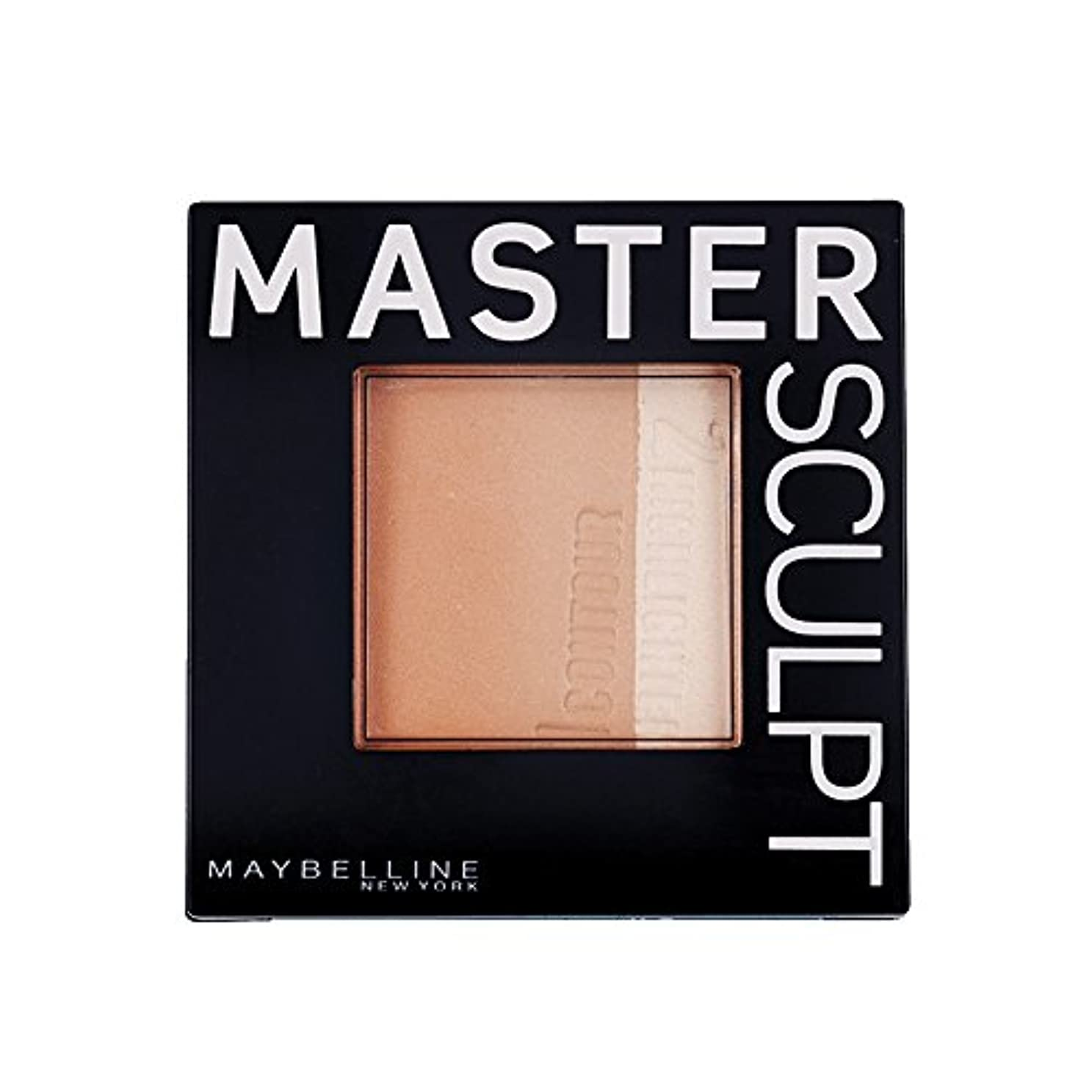 二週間消毒する空中Maybelline Master Sculpt Countouring Palette Light Medium 01
