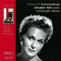 Lieder by SCHUBERT / WOLF (2011-01-25)