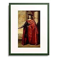 Maffei, Francesco,1605-1660 「Portrait of Lazzaro Mocenigo. 1556/57」 額装アート作品