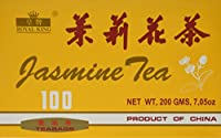Royal King Jasmine Tea - 100 Tea Bags by Benchalak