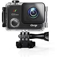 【GITUP G3 DUO PRO PACKING】 2160p 128GB 2インチのタッチスクリーン 170°広角レンズ バッテリー容量 1200mAh 手ぶれ補正・Gセンサ、動体検出をサポート 小型アクションカメラ 高画質 防水 WIFI Bluetooth 対応