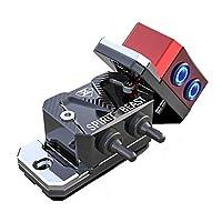 クインウィンド スピリットビーストバイクヘッドライトスイッチポンプカバーデコレーション150NK 多機能防水パワー - 黒