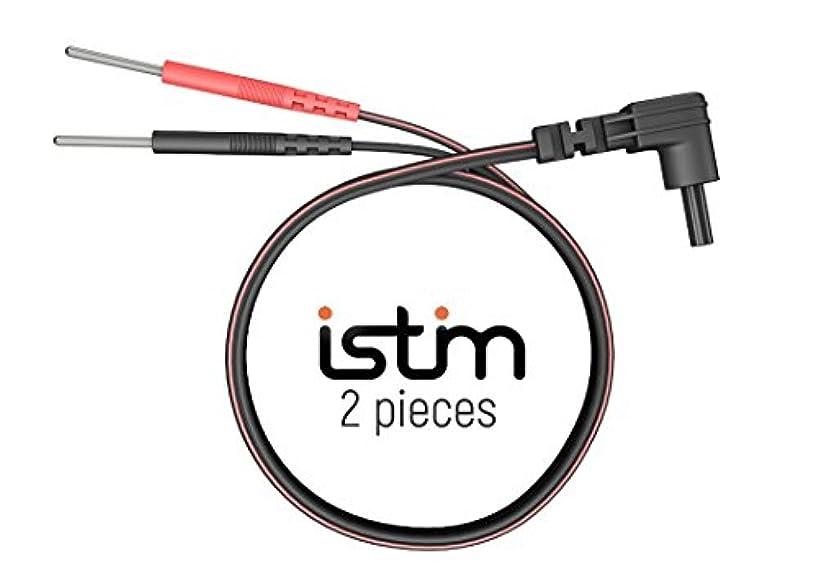 却下する民間人真向こうiStim 交換用 ∅ 2mm 導子コード EV-820 EV-804 TENS EMS IFユニット 低周波マッサージ機 筋トレマシーン EMS用