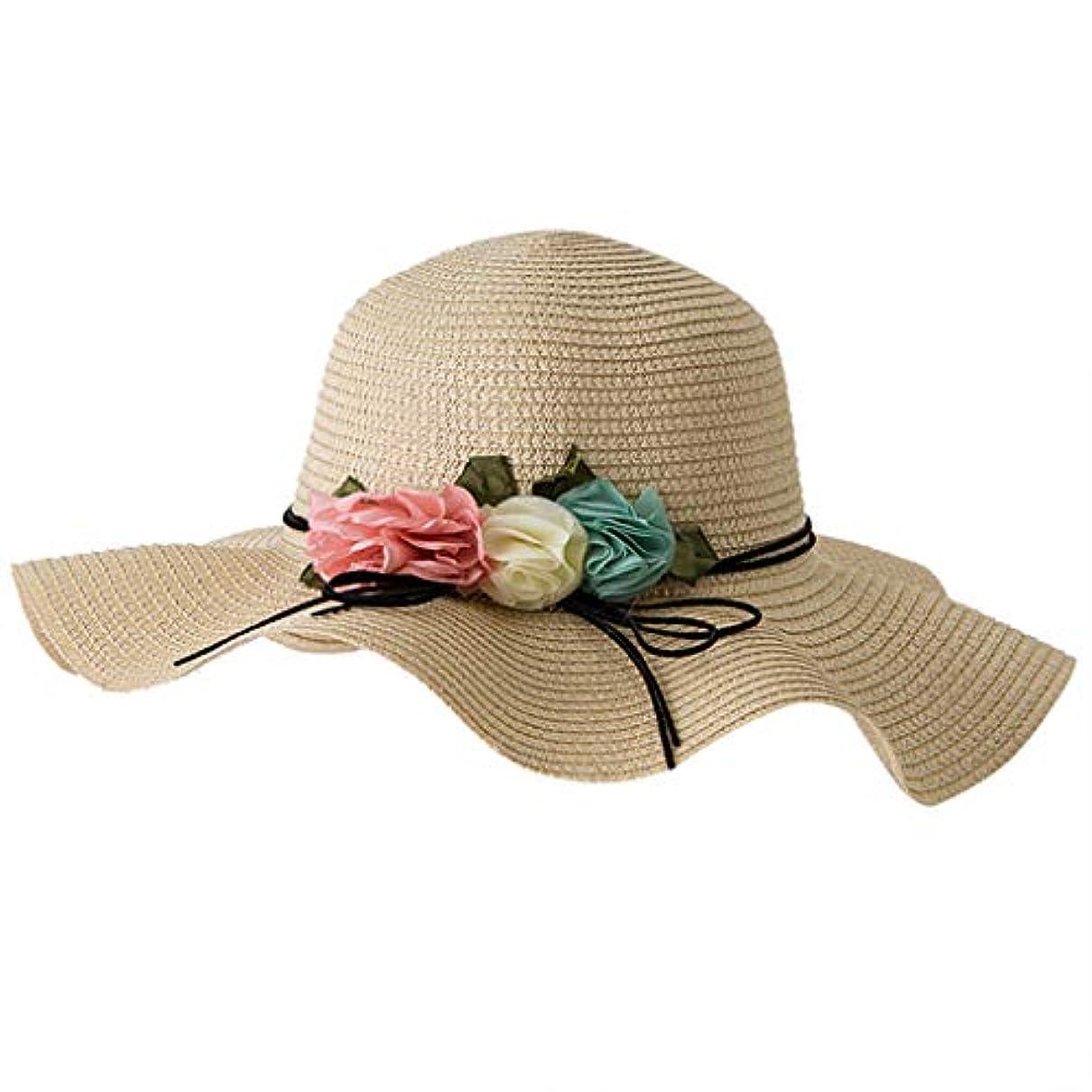ランドリーインタビュー期待アウトドアファッションビッグバイザー UVカット 帽子 レディース 春用帽子 小顔効果 折りたため 日よけ帽子 高性能 高耐久性 女性の春と夏の無地のコットンキャップ 漁師の帽子 流域キャップ 日焼け対策 ROSE ROMAN