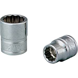 KTC(ケーテーシー) 9.5mm (3/8インチ) ソケット (十二角) 10mm B310W