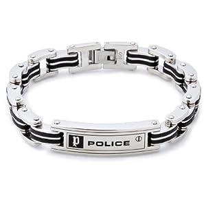 [ポリス] POLICE ステンレス ブレスレット【高杉真宙さん着用モデル】 24919BSB01