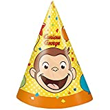 Curious George Party Hats ( 8 )