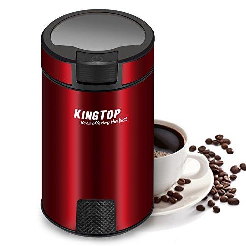 コーヒーミル 電動式 コーヒーグラインダー KINGTOP ...