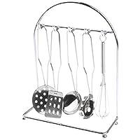 Perfk 子供ステンレスキッチン調理器具おもちゃ 6パック 多種類セット 幼児の早期教育 能力開発  指先の調整能力 銀
