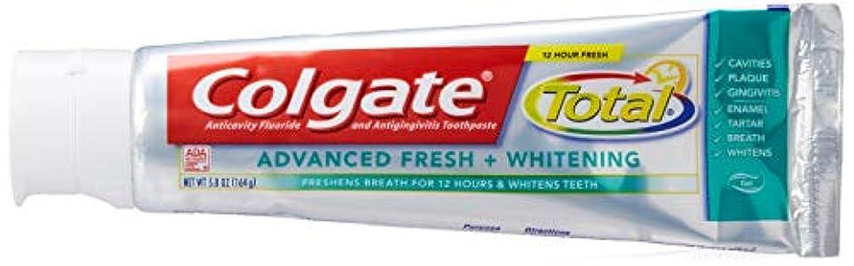 Colgate トット前売フレッシュジェルサイズ5.8Z総高度なフレッシュジェルハミガキ5.8オンス