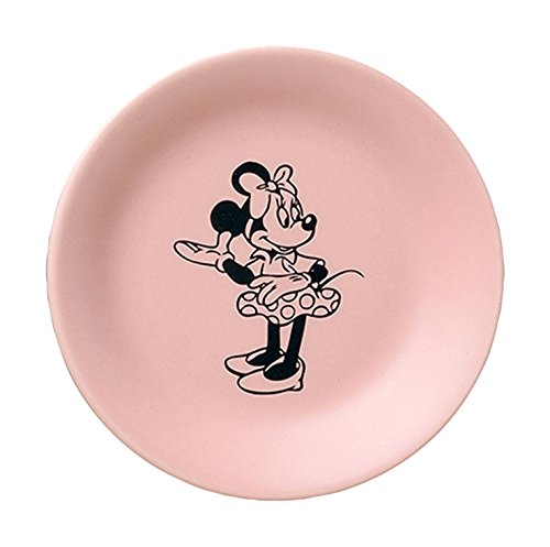 ディズニー 小皿 コミックアートコレクション D-MF02 ミニー ピンク