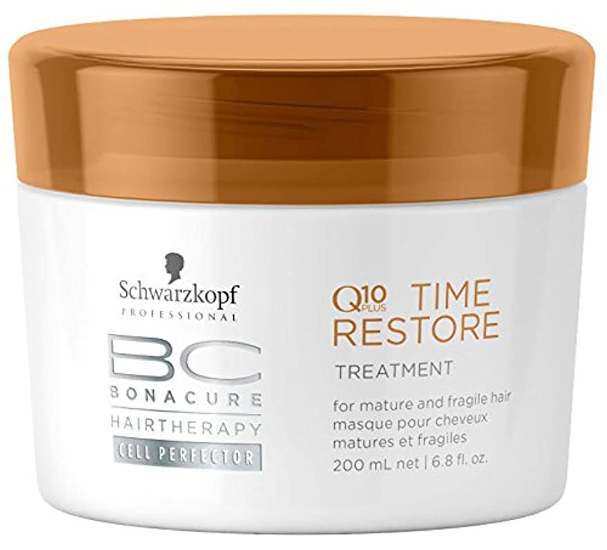 インストールコメンテータータイピストシュワルツコフ BC Time Restore Q10 Plus Treatment - For Mature and Fragile Hair (New Packaging) 200ml [海外直送品]