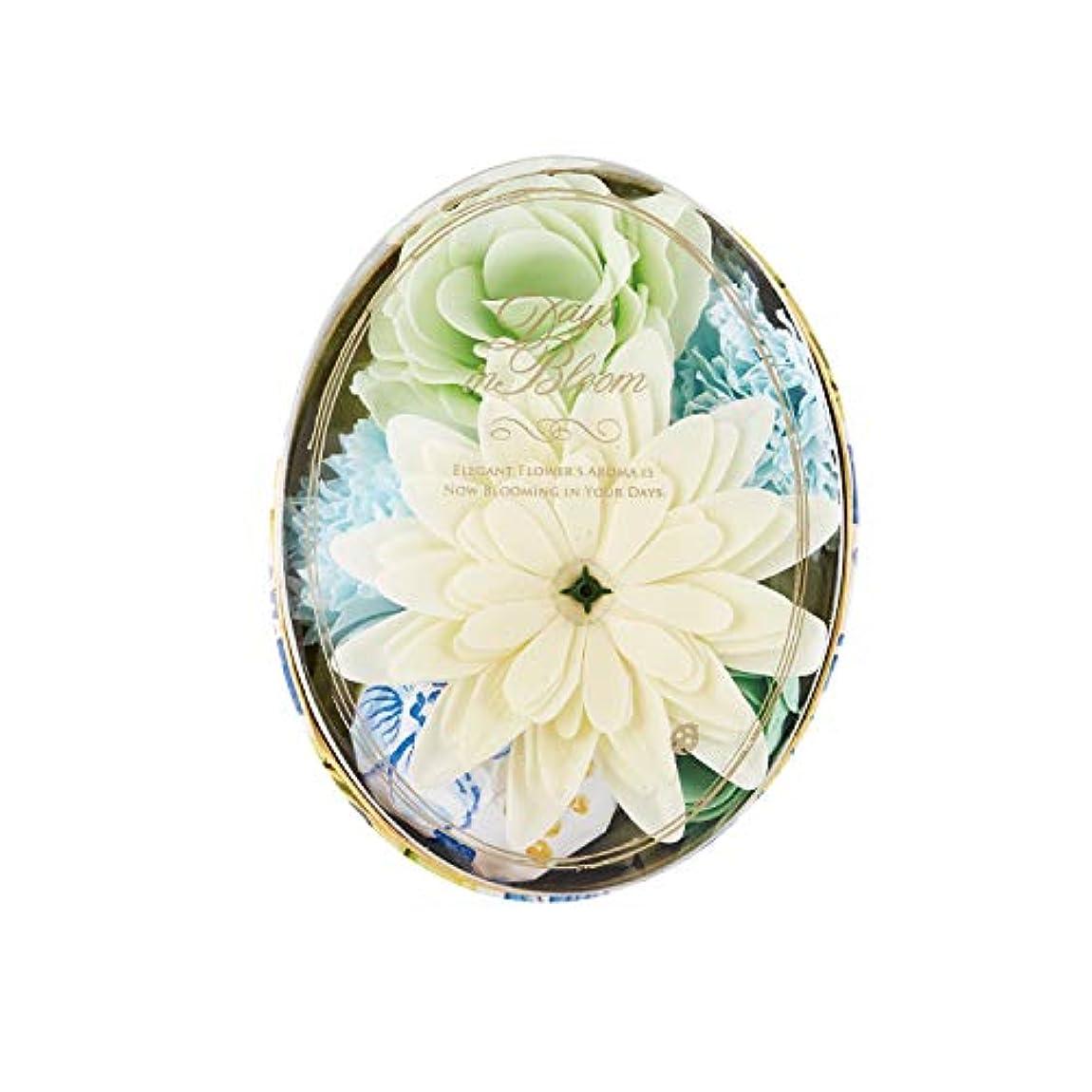 ブラケットご覧ください言語デイズインブルーム バスセットオーバル ガーデニア (入浴料 お花の形のバスギフト)