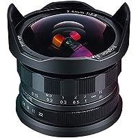 Brightin Star 7.5mm F2.8 Sony Eマウントカメラのマニュアル魚眼レンズ 保護レンズキャップ付き レンズフード取り外し可能 ブラック(A6500 / A6300 / A6000 / A5100 / A5000 / NEX-3 / NEX-3N / NEX-3R / NEX-C3 / NEX-F3K / NEX-5K / NEX- NEX-5N / NEX-5A / NEX-5T / NEX-5C / NEX-5R / A7 / A7II / A7R / A7RII / A7S / A7SII / VG10 / VG20 / VG30 / EA50 )