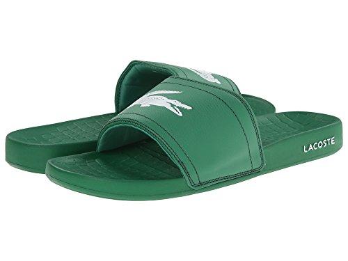 [ラコステ] Lacoste メンズ Fraisier Brd1 サンダル Green/Green US8(26cm) - M [並行輸入品]