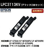 EPSON 環境推進トナーLPC3T13KV ブラック 2本セット 純正品