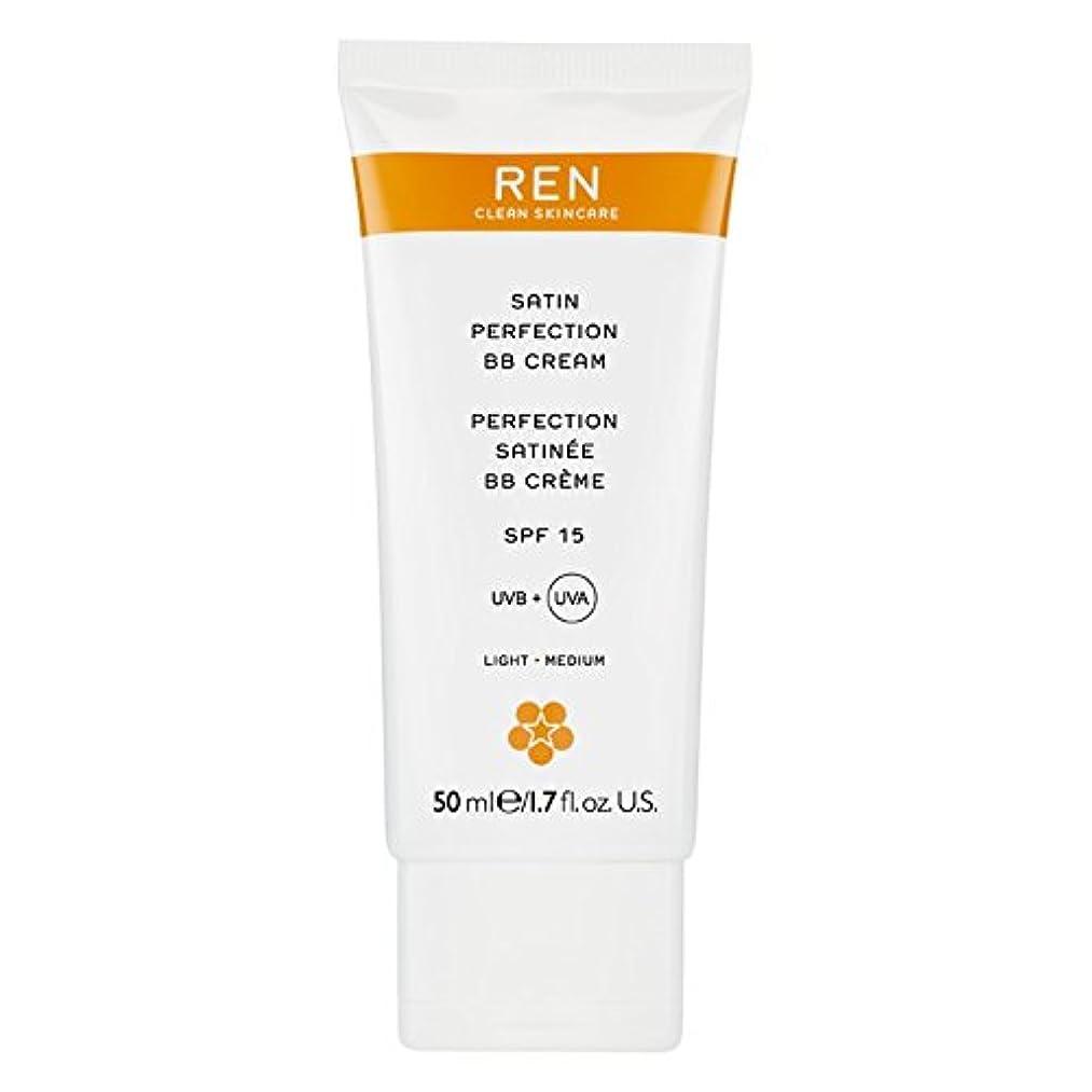 ミサイル深く土Renサテン完璧Bbクリーム50ミリリットル (REN) (x6) - REN Satin Perfection BB Cream 50ml (Pack of 6) [並行輸入品]