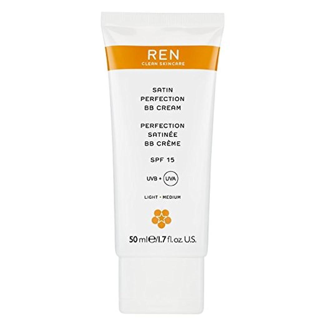 福祉取得するミリメーターRenサテン完璧Bbクリーム50ミリリットル (REN) (x2) - REN Satin Perfection BB Cream 50ml (Pack of 2) [並行輸入品]