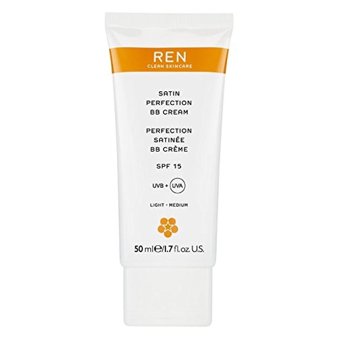 レジ追放著者Renサテン完璧Bbクリーム50ミリリットル (REN) (x6) - REN Satin Perfection BB Cream 50ml (Pack of 6) [並行輸入品]