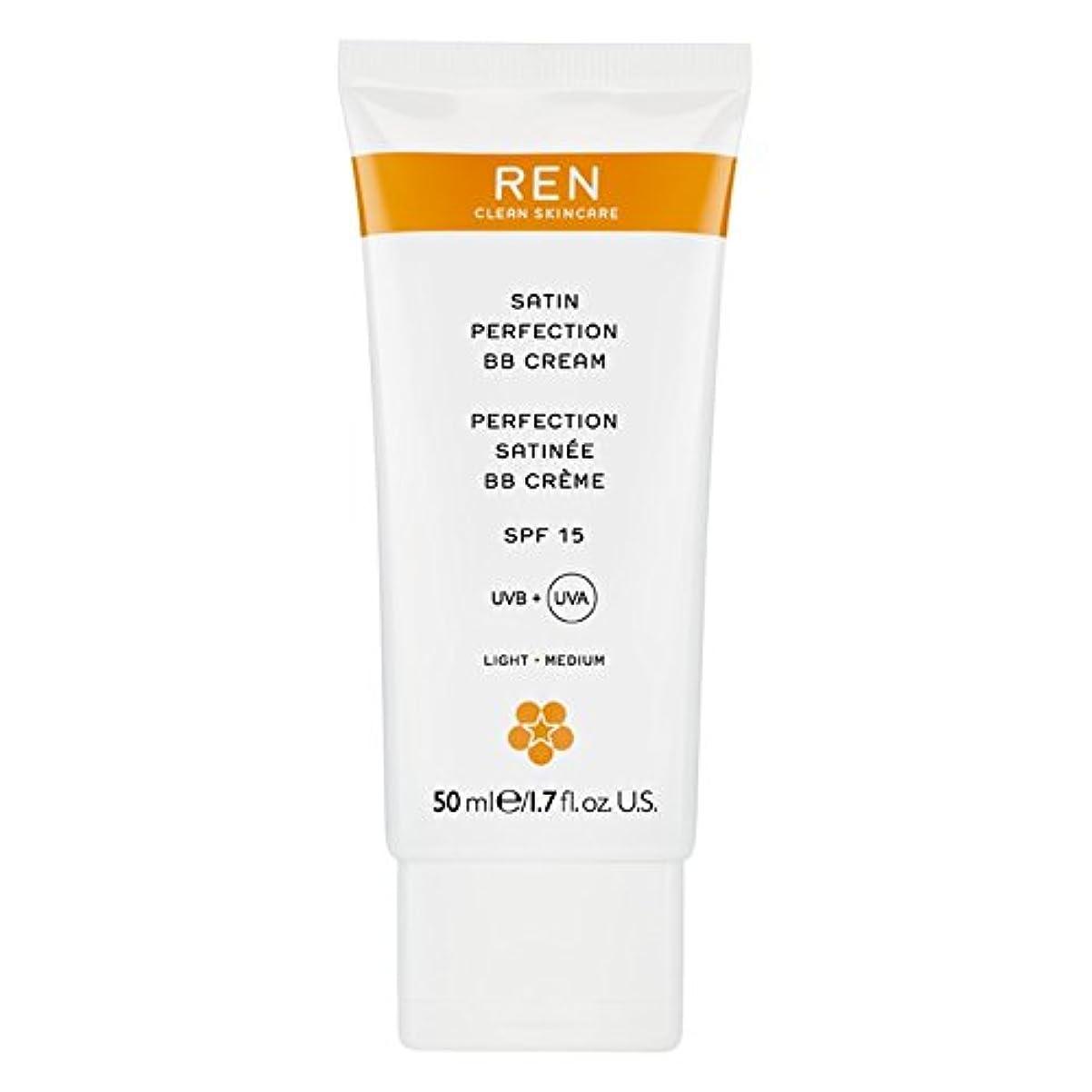 スカリー資産魅力的であることへのアピールRenサテン完璧Bbクリーム50ミリリットル (REN) (x2) - REN Satin Perfection BB Cream 50ml (Pack of 2) [並行輸入品]