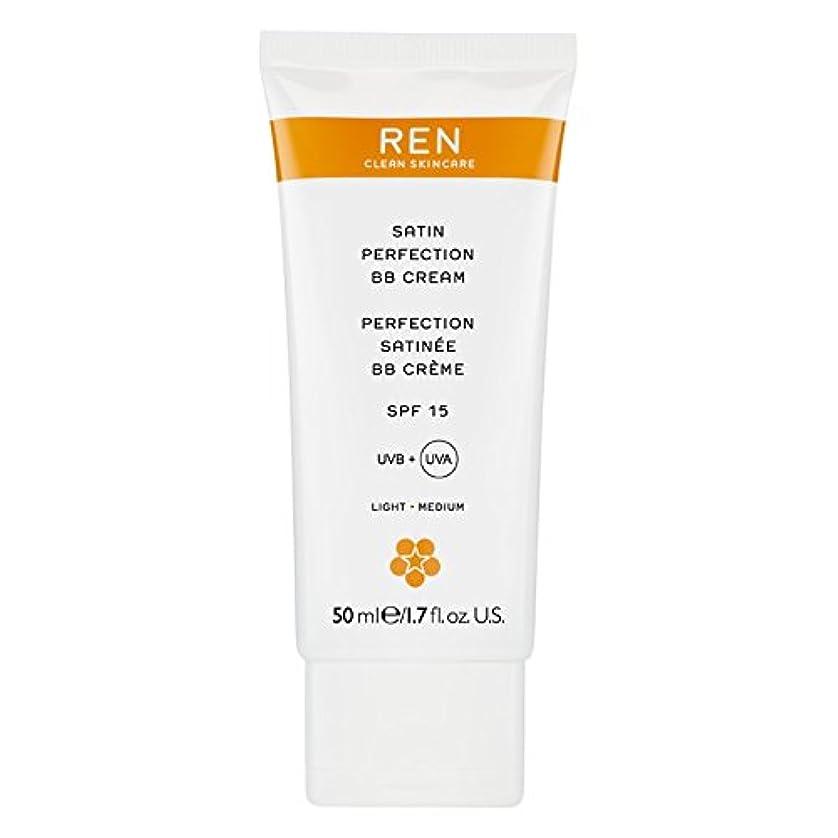 遷移見つけた迫害するRenサテン完璧Bbクリーム50ミリリットル (REN) (x6) - REN Satin Perfection BB Cream 50ml (Pack of 6) [並行輸入品]