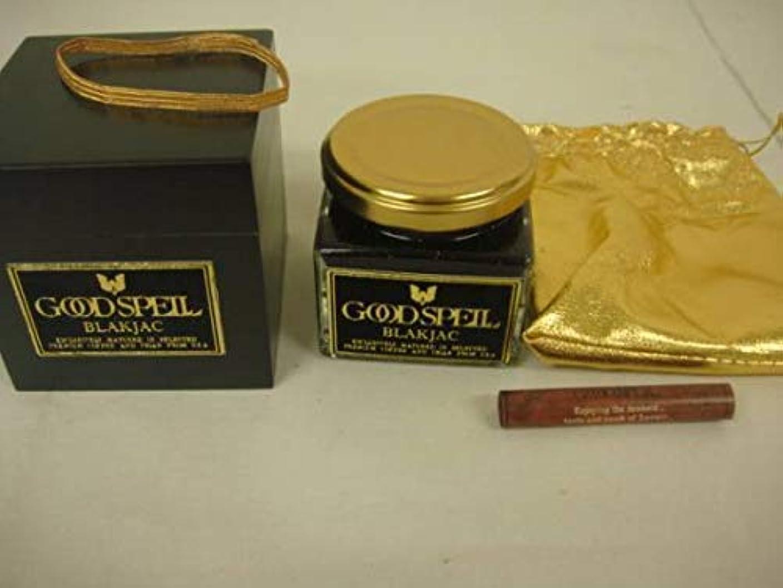 化学男らしい常習者【X2個セット】THE GOODSPELL PERFUMERS BLACK JACK(コーヒー系)アロマキャンドル