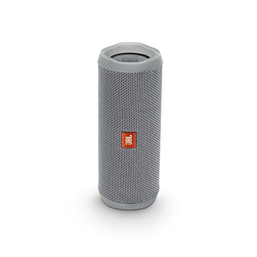 FLIP4 Bluetoothスピーカー IPX7防水 パッシブラジエーター搭載 ポータブル グレー JBLFLIP4GRY