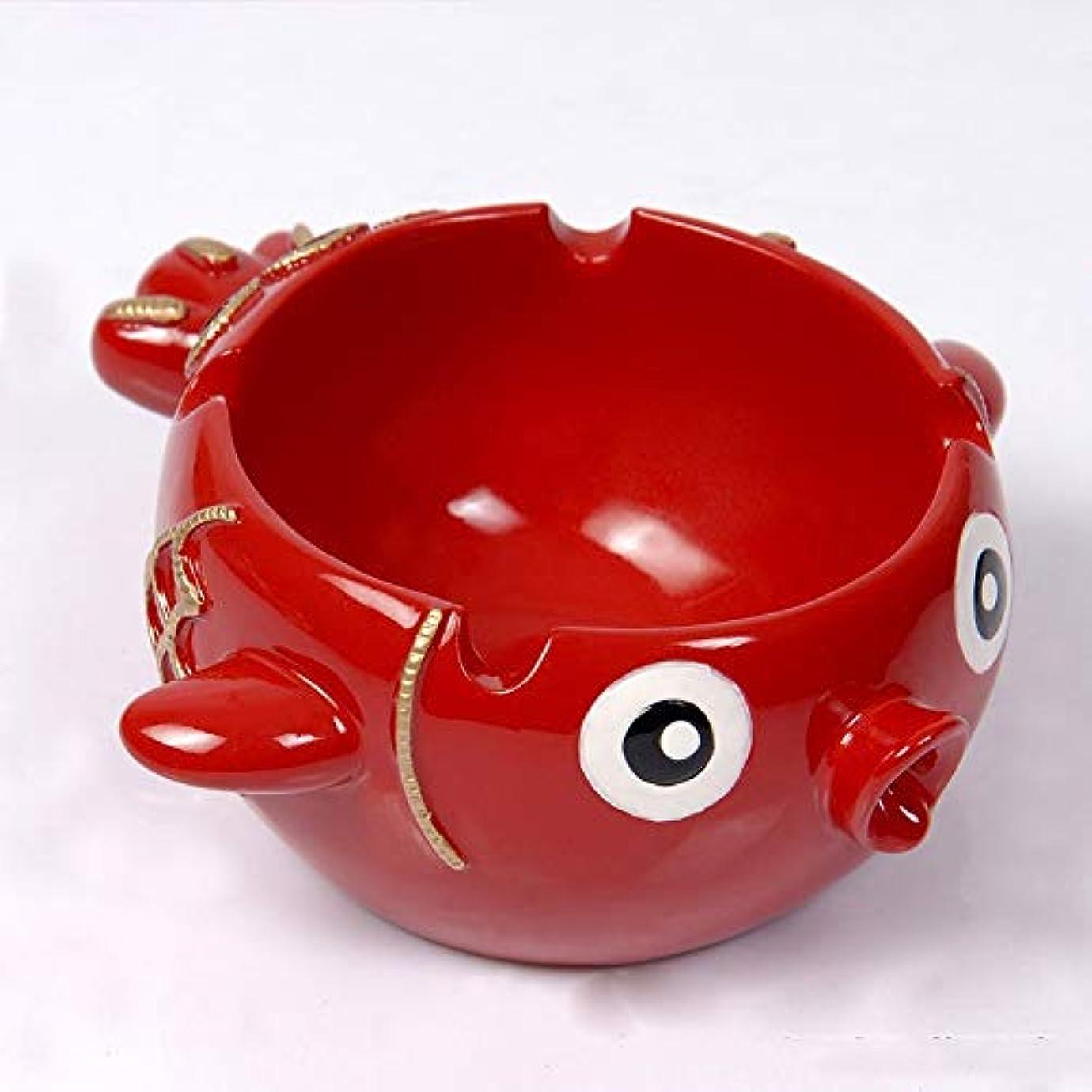 膨らみ内向き錫タバコ、ギフトおよび総本店の装飾のための灰皿の円形の光沢のある樹脂の灰皿