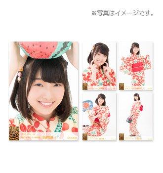NMB48 個別生写真5枚セット 2018.July 浴衣 AKB 安部若菜(TeamNドラフト研究生)