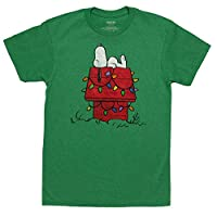 Peanuts Snoopy Chillin Christmas T-Shirt
