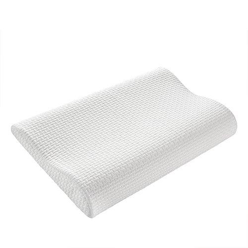 Keciepo 枕 安眠 人気 快眠枕 低反発まくら 熟睡 頚椎 首・頭・肩をやさしく支える健康枕 快適睡眠 通気性抜群 防ダニ 抗菌 カバー洗える 5-15歳効果抜群