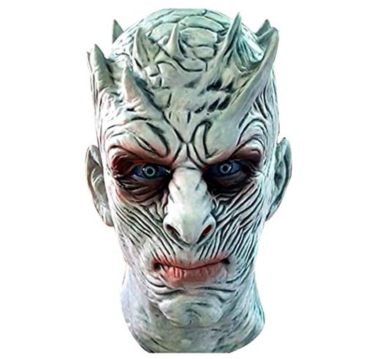 ウェイトレスでる認めるハロウィンホラーマスクラテックスしかめっ面右ゲームナイトキングマスクヘッドギア