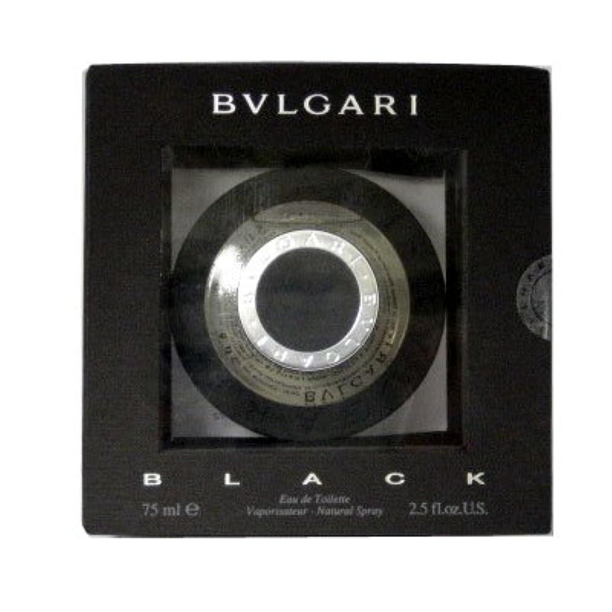 署名道路移住するブルガリ BVLGARI ブラック EDT SP 75ml