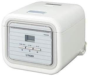 タイガー 炊飯器 3合 マイコン 一人暮らし用 レシピ付 シンプルホワイト  tacook 炊きたて JAJ-A552-WS
