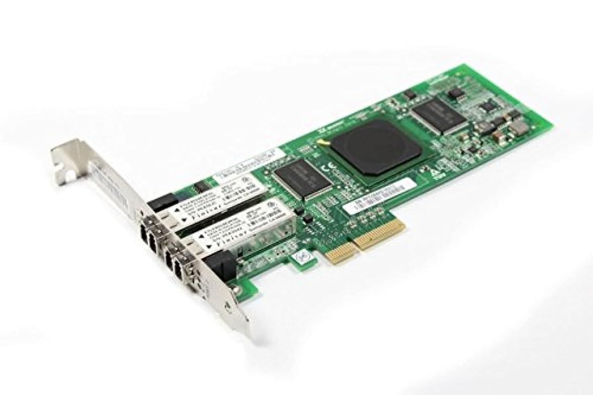 また明日ね薬段落QLogic qle2462-e PCIe 4 Gb FC 2 - Portカードpx2510401 – 55 (認定Refurbished)