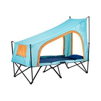Amazon Cot Tent 1p(コットテント1人用) 折り畳み式テントコット スカイブルー