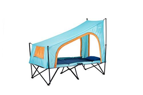 Cot Tent 1P(コットテント1人用) 折り畳み式テントコット スカイブルー