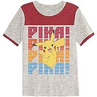 Jumping Beans Boys 4-8 Pokemon Retro Pika Jump Graphic Tee
