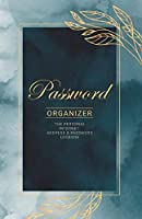Password Log Book | Protect your usernames and passwords in one secure and convenient place | Password Logbook size 5.5 x 8.5 inch 110 Pages | Key Logbook