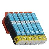 エプソン IC70 ライトシアン 6個セット 互換インク ICLC70/70L EPSON ICチップ付 1年保証付