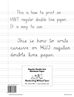 Handwriting Without Tears Double-Lined Notebook Paper 100 Sheets [並行輸入品]