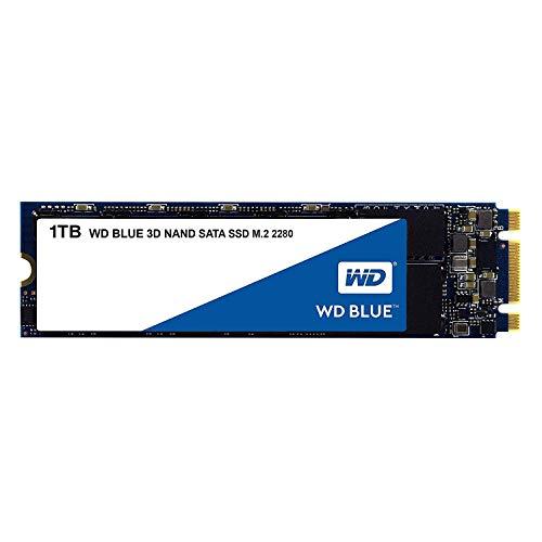 【国内正規代理店品】WD 内蔵SSD M.2-2280 / 1TB / WD Blue 3D / SATA3.0 / 5年保証 / WDS100T2B0B-EC