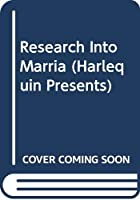 Research Into Marria (Harlequin Presents)