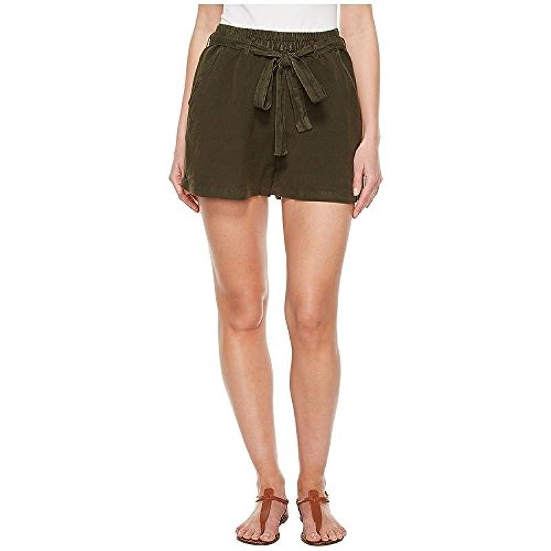 商業のクロール楽しい(ラッキーブランド) Lucky Brand レディース ボトムス?パンツ ショートパンツ Tie Front Linen Shorts in Deep Depths [並行輸入品]
